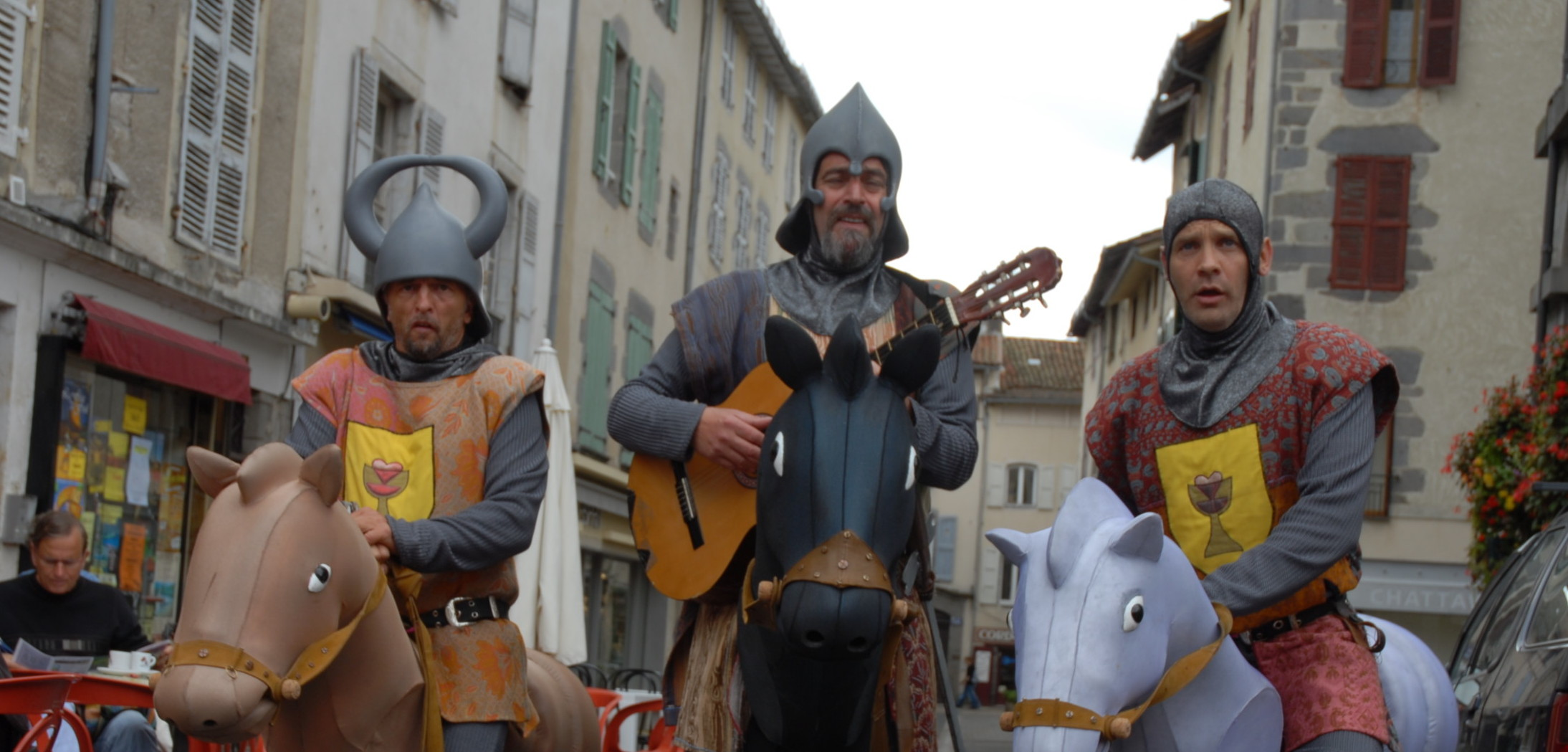 Graaleurs Acidu spectacle rue médiéval