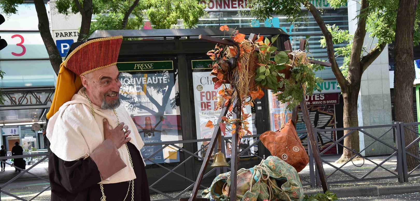 Herbier Charlatan Acidu spectacle rue